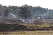 Flächenbrand Truppenübungsplatz